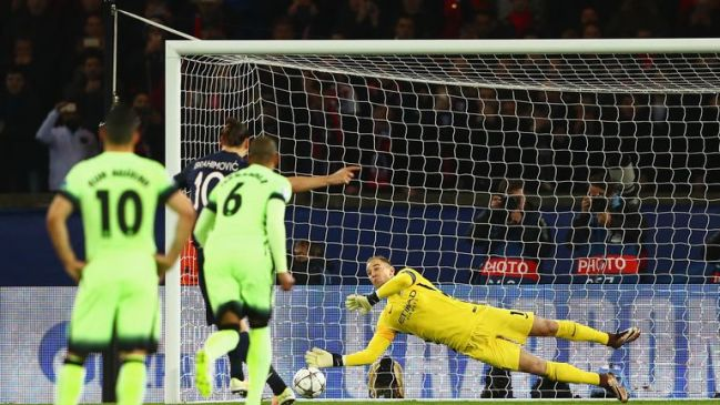 Joe Hart's early penalty save from Zlatan Ibrahimovic denied PSG the lead