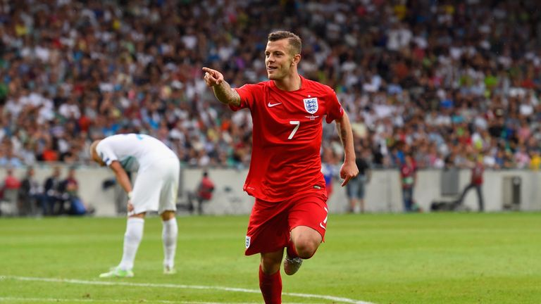 Jack Wilshere has overcome injury to feature in England's squad