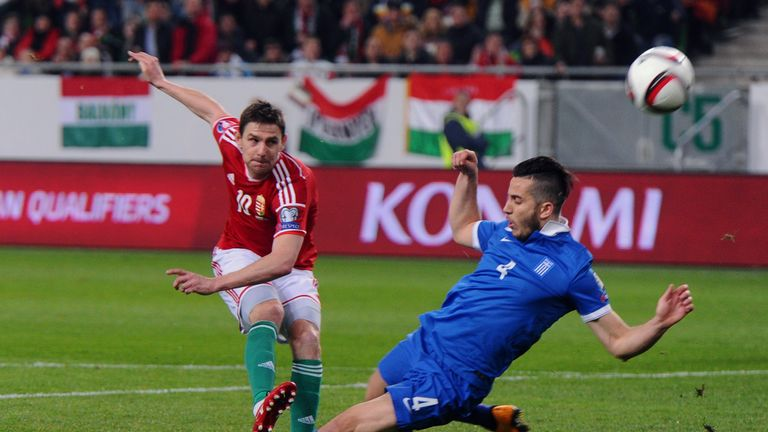Former West Brom and Fulham midfielder Zoltan Gera features in Hungary's squad