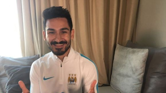 Ilkay Gundogan joined City from Borussia Dortmund (Picture: Manchester City)