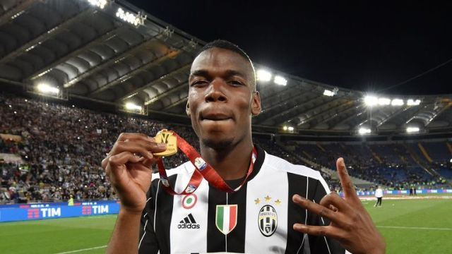 Pogba has enjoyed huge success at Juventus after joining the club from Manchester United on a free transfer