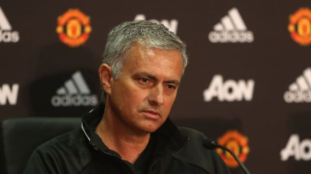 Jose Mourinho was unveiled as Manchester United manager in July 2016