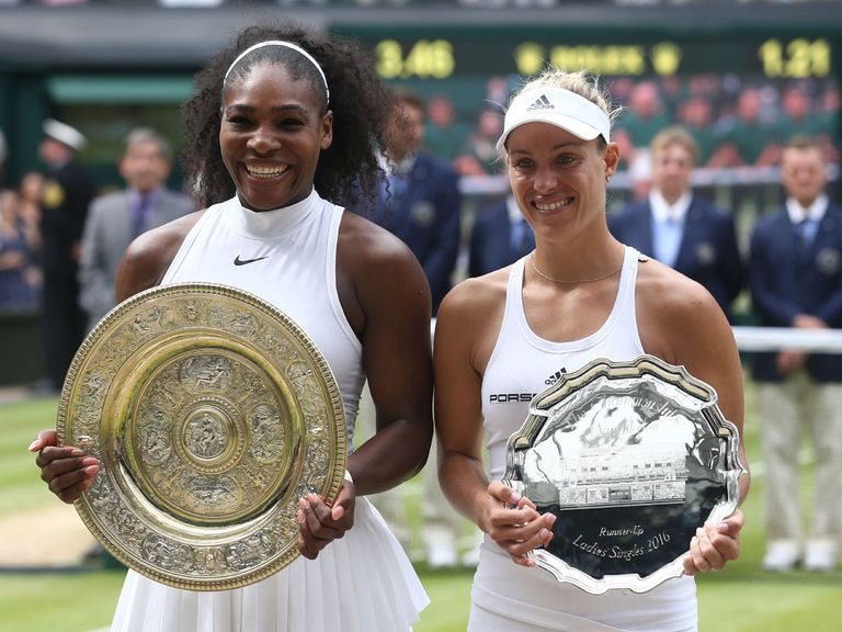 Williams (l) and Kerber have both qualified for Singapore.