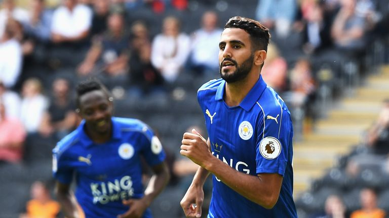 Riyad Mahrez has confirmed Arsenal tried to sign him last summer