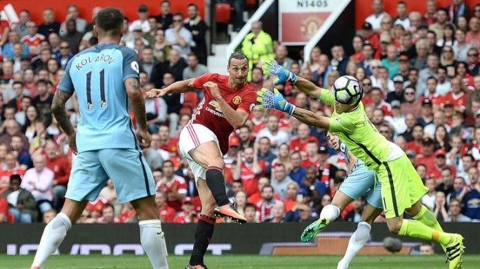 Zlatan Ibrahimovic's goal against Man City was the most tweeted moment of the Premier League season