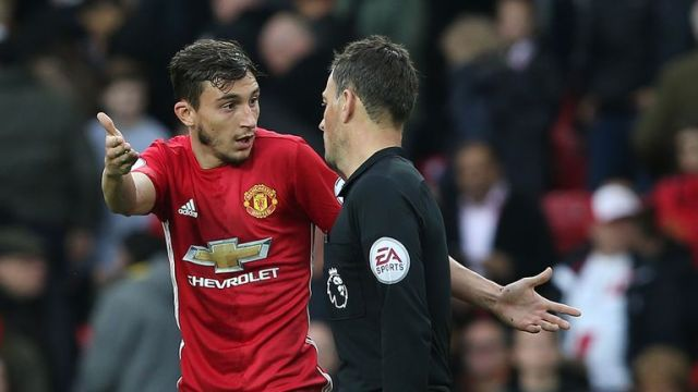 Matteo Darmian has struggled to hold down a first-team place at United
