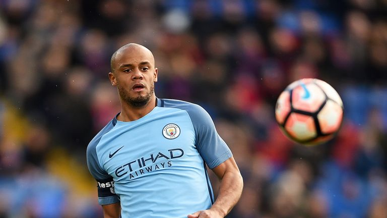 Vincent Kompany will not play against Liverpool