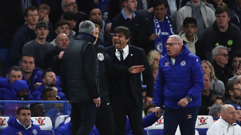 Image result for Mourinho- conte1