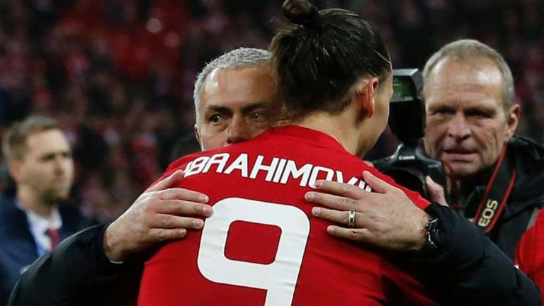 Jose Mourinho trusted Zlatan Ibrahimovic would make a full recovery
