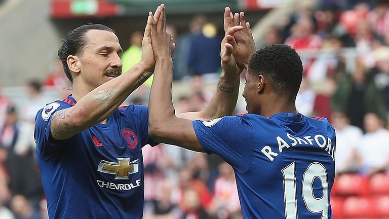 Rashford says he learned a great deal from Zlatan Ibrahimovic