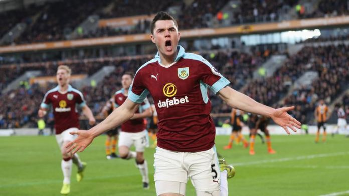 Michael Keane joined Burnley from United