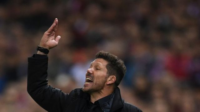 Diego Simeone's Atletico were beaten 4-2 on aggregate
