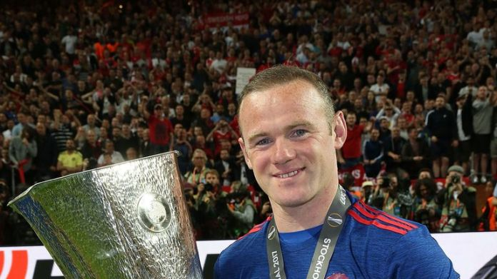 Wayne Rooney is set to leave having won the Europa League last season