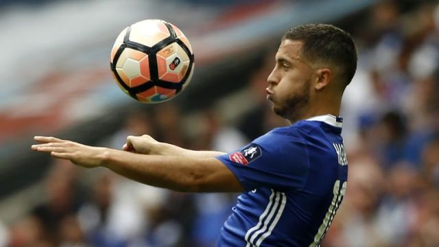 Sunday's game has come too soon for Chelsea's Belgian midfielder Eden Hazard