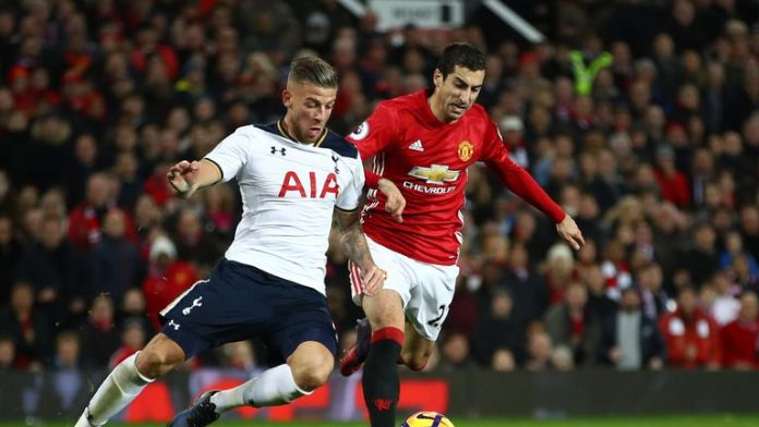 Manchester United and Tottenham meet at Old Trafford on Saturday