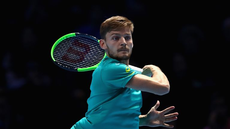 David Goffin has already won two matches this week