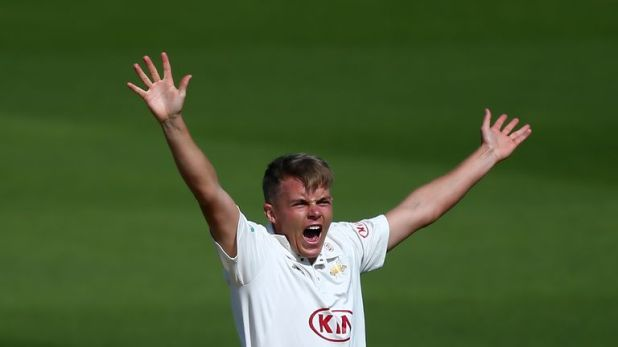 Surrey's Sam Curran has been called up as cover for Ben Stokes