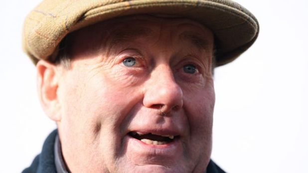 Trainer Nicky Henderson - runs exciting prospect at Warwick