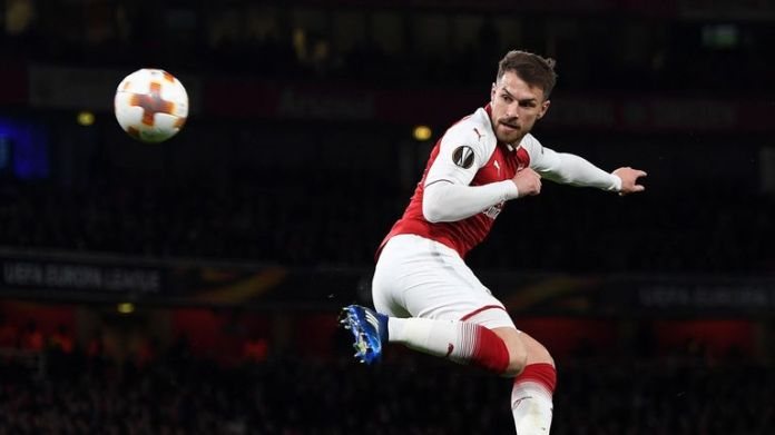 Aaron Ramsey's current contract expires next summer