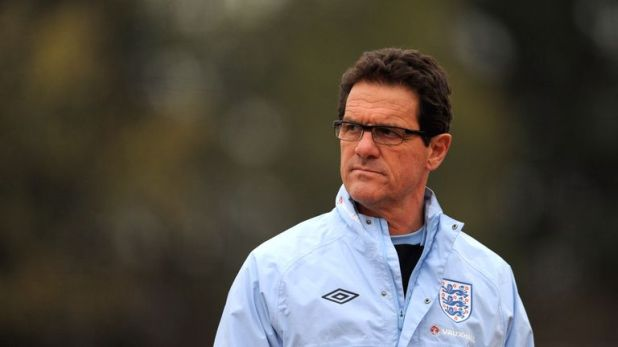 Fabio Capello was in charge of England from 2008 until 2012