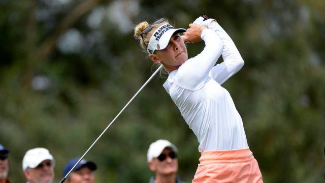 Jessica Korda claimed a share of fourth place