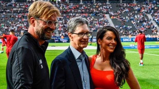 Jurgen Klopp with Liverpool owner John Henry