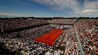 Simona Halep defeats Sloane Stephens to win maiden Grand Slam at French Open | Tennis News Simona Halep defeats Sloane Stephens to win maiden Grand Slam at French Open | Tennis News skysports court philippe chatrier 4323034