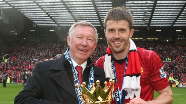 Carrick signed for Sir Alex Ferguson at Manchester United