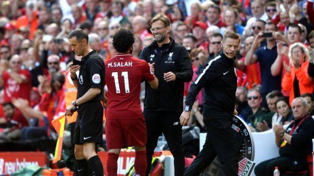 Jurgen Klopp helps inspire Liverpool players, says Salah