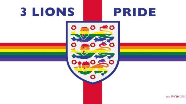 Di Cunningham is fearful of displaying her 3 Lions Pride banner in Russia