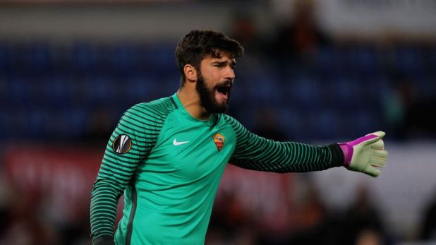 Allison has emerged as one of the world's top goalkeepers at Roma