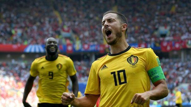 Eden Hazard shone for Belgium during the World Cup