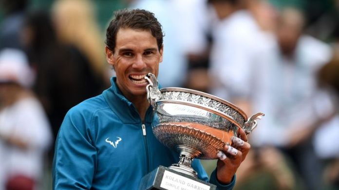 Rafael Nadal won a record-extending 11th French Open title on Sunday Rafael Nadal beats Dominic Thiem to win record-extending 11th French Open title | Tennis News Rafael Nadal beats Dominic Thiem to win record-extending 11th French Open title | Tennis News skysports rafael nadal tennis 4332665