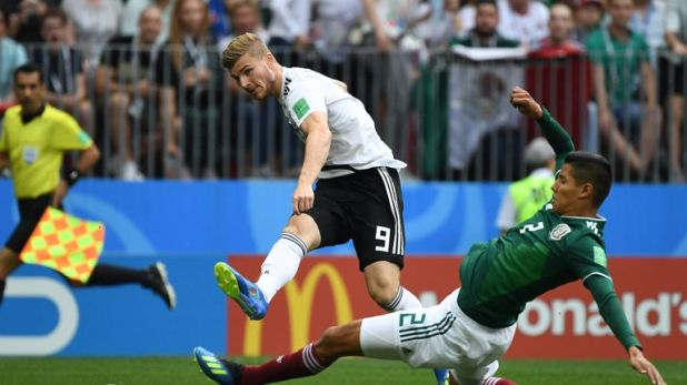 Germany failed to score from 26 attempts against Mexico