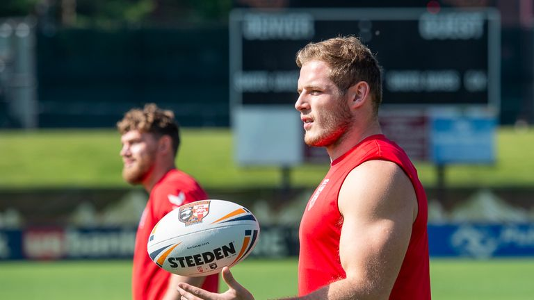 England prop Tom Burgess believes altitude won't affect New