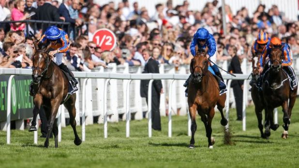 Wild Illusion chases home Forever Together in the Investec Oaks