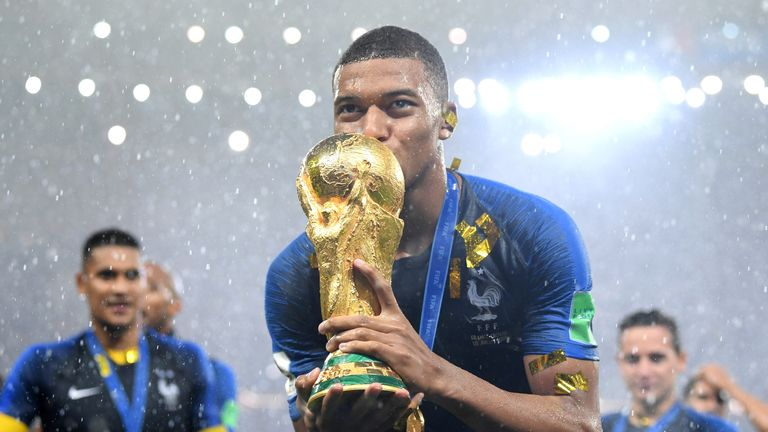 Image result for kylian mbappe world cup
