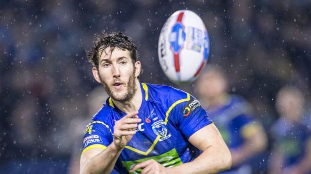 Stefan Ratchford marked his 200th appearance for Warrington with a try