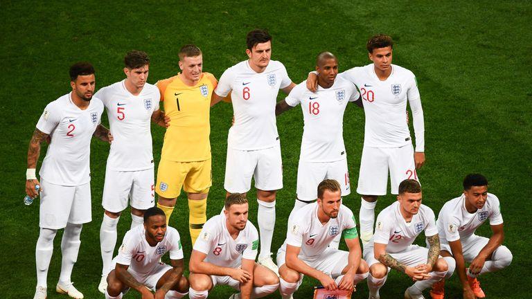 Kết quả hình ảnh cho England football team