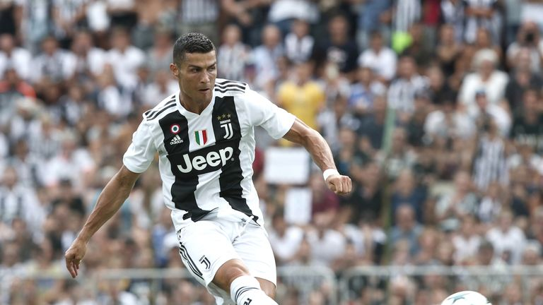 Ronaldo is yet to score since joining Juventus