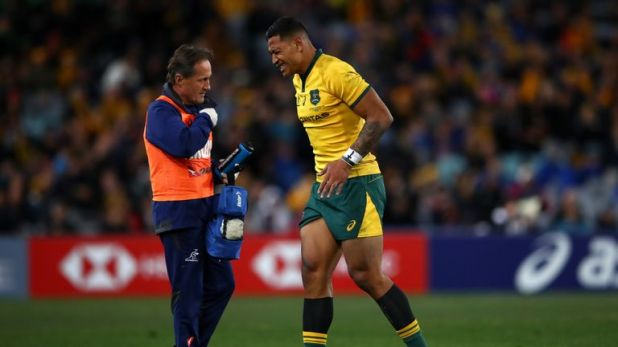 Folau has missed Australia's last two games in the Rugby Championship