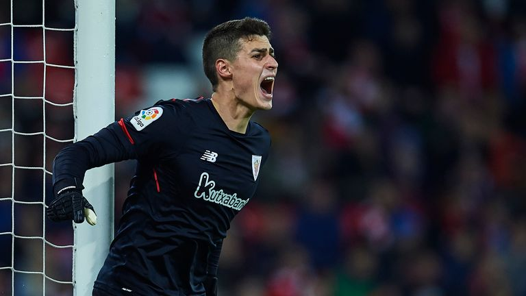 Chelsea are closing on a deal to sign Kepa