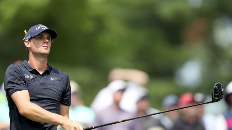 Thomas Pieters made a crucial mistake on the 17th