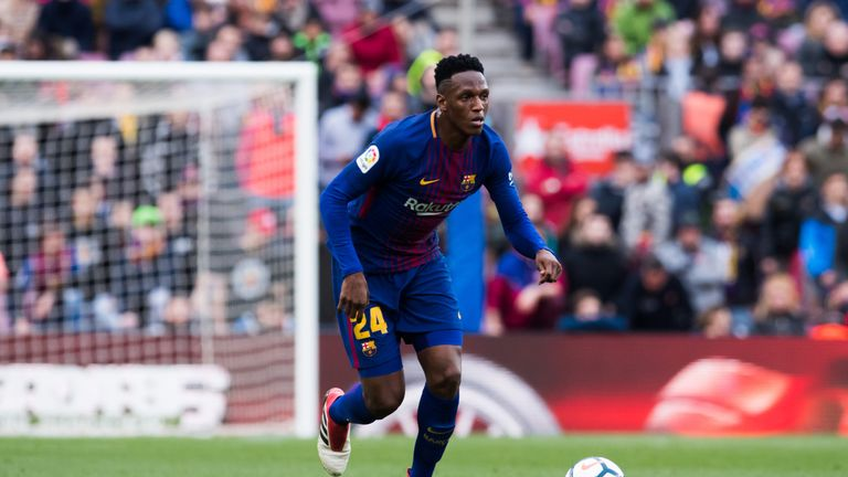 Barcelona's Yerry Mina impressed at the World Cup