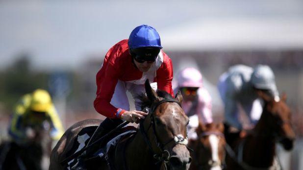 Angel's Hideaway wins the Princess Margaret Keeneland Stakes