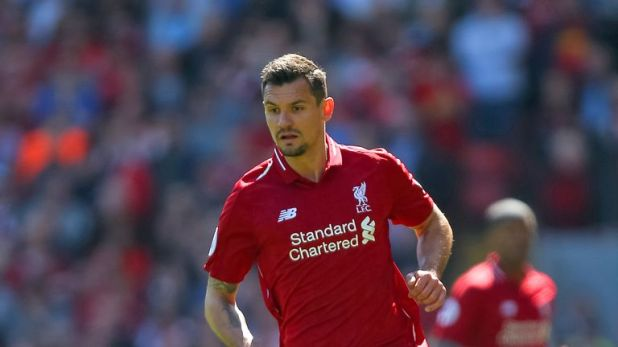 Dejan Lovren is rated as the most aggressive Liverpool player