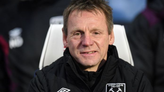 Stuart Pearce was part of David Moyes' coaching staff at West Ham in 2018