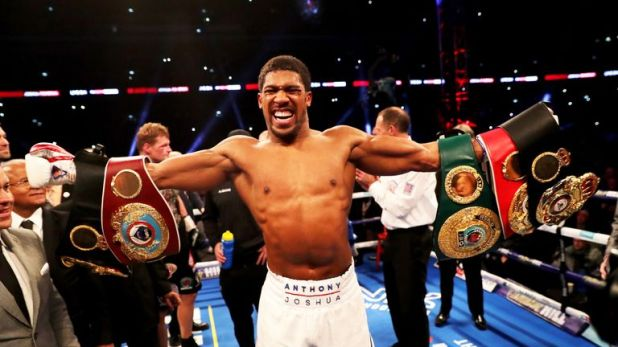 Anthony Joshua wants to battle Deontay Wilder for all the world titles