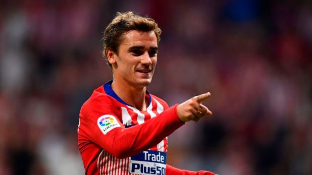 Antoine Griezmann is set to feature for Atletico Madrid against Borussia Dortmund