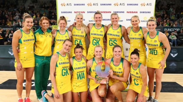 Australian Diamonds sealed their fourth Quad Series triumph